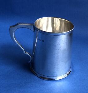 Schöner alter englischer Becher, 925 Silber, William Hutton, Birmingham 1912