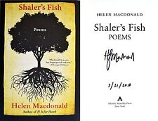 Helen MacDonald~SIGNED & DATED~Shaler's Fish: Poems~1st/1st + Photos!!