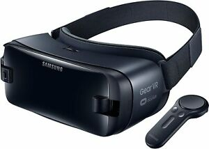 Samsung Gear VR (SM-R235 neue Version!) inkl. Controller in grau - Top Zustand