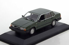 1:43 MINICHAMPS   VOLVO 740 GL  1986  DARK GREEN  940171700- MAXICHAMPS