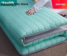 Thickness 6cm/10cm Latex Mattress Folding Mattress Memory Cotton Queen King Full