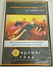Introduction To Yoga Sculpt CorePower Disc 1 Workout Jessica Kos Birney Sealed