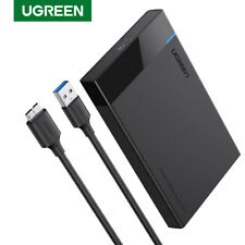"Ugreen External Hard Drive Enclosure USB3.0 to SATA Adapter for2.5"" SSD HDD Case"
