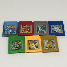 Game Cards Carts For Nintendo Pokemon GBC Game Boy Color Version Lot