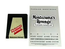 Montezuma's Revenge (Colecovision, 1984) Parker Bros. (Cartridge & Manual) NTSC