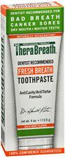 TheraBreath Mild Mint Fresh Breath Toothpaste 4 oz