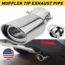 Auto Car Exhaust Pipe Tip Tail Muffler Stainless Steel Replacement Accessories A (Fits: Kia)