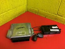 Ecu Control Module Unit Set Key Fob Trafic Vivaro 01-2007 1.9 dCi NextDay#18992