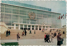 1958 Belgian photo postcard Pavilion of the USSR on WORLD EXHIBITION IN BRUSSELS