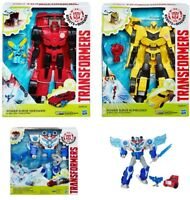 Transformers Power Surge- Optimus Prime/Bumble Bee/Sideswipe Windstrike figures