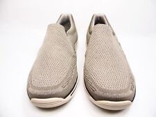 Skechers 65086/TPE Expected-Gomel Slip Ons Mens Taupe  Size 11.5