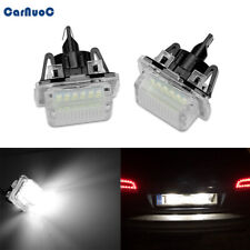Fit For Mercedes Benz W204 W212 W221 No Error 18SMD LED License Plate Light Lamp