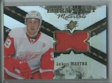 """Anthony Mantha RC Jersey Patch """"Extravagant Materials"""" 2016-17 Upper Deck SPX"""
