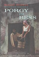 1959 PORGY AND BESS - SAMUEL GOLDWYN MOTION PICTURE PRODUCTION MOVIE BOOK