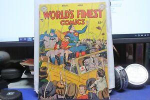 WORLD'S FINEST #39 1949