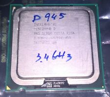 Intel Pentium D 945 - 3.40 GHz, 4M Cache, 800 MHz FSB Dual-Core Processor SL9QB