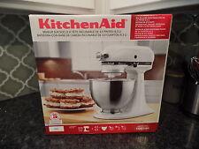 KitchenAid Classic Plus KSM75WH 4.5 Quart Tilt-Head Stand Mixer - WHITE - SEALED