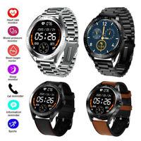 Damen Herren Smartwatch Pulsuhr Sport Uhr Remote-Kamera für Samsung A9 A8 M30