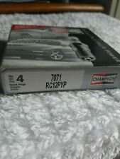 CHAMPION DOUBLE PLATINUM POWER Spark Plugs 7071 Set of 4