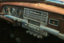 1949 Plymouth dashboard in car at junk yard 8 x 10 Photograph