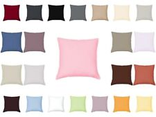 Mako Satin Cushion Cover 15 11/16x19 11/16in Pillow Case Uni 100% Cotton