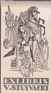 ex-libris V.Stuyvaert
