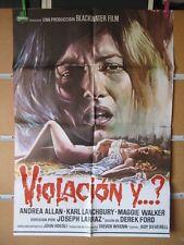 991      VIOLACION Y... ? ANDREA ALLAN, KARL LANCHBURY, MAGGIE