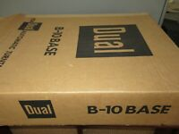 Dual B-10 Turntable base vintage record player 1225 and many other