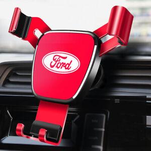 Air Vent Gravity Car Mobile Phone Holder Navigation Bracket Fit for Ford