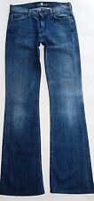 7 For All Mankind Womens Jeans High Waist Bootcut EUC Dark Soft Wash Trouser 27