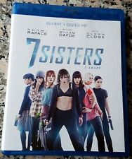 SEVEN SISTERS WHAT HAPPENED TO MONDAY BLU RAY Noomi Rapace Willem Dafoe Wagner