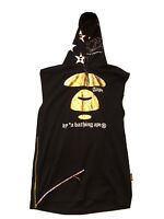 AAPE Metallic Ape Face Sleeveless Hoodie By Bathing Ape Great Condition