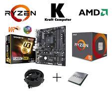 PC Bundle AufrüstKit AMD Ryzen 5 1600 (6x3,6GHz) + Gigabyte AB350M DS3H  NEU/OVP