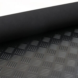 Rubber Flooring Garage Sheeting Matting Rolls 1.2M and 1.5M Wide X 3MM THICK