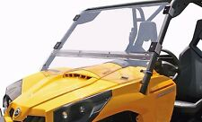 MOOSE FULL FOLDING UTILITY VEHICLE WINDSHIELD 2317-0181 FOR CAN AM COMMANDER