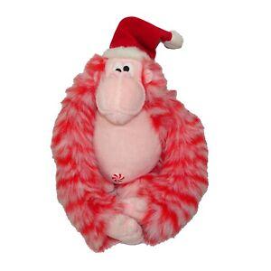 Orangutan Santa Peppermint Plush Monkey Gorilla John Doze Studios Bestever