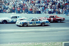 1979 8X10 PHOTO CHARLOTTE WORLD 600 #11 CALE YARBOROUGH #27 BENNY PARSONS #1 ALL