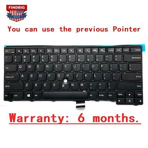 US Keyboard no Pointer for lenovo Thinkpad T440 T440P T440S T450 T450s T460 E431
