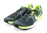 Nike Train Prime Iron DF $120 Men's Training Shoes Size 12 Black Green