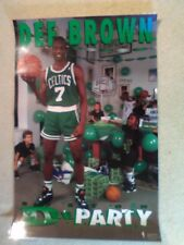 "Dee Party 90'S COSTACO 24""x 36"" POSTER DEE BROWN BOSTON CELTICS"