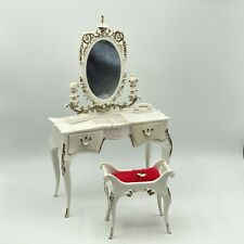 Vintage Barbie 1964 Suzy Goose Vanity Set Dressing Table And Bench