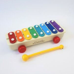 Fisher Price Pull A Tune Xylophone 2009 Mattel Music Toy Pretend Play