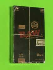 "Free Gifts�If U Buy Authentic Raw Classic 1 1/4"" Black Rolling Papers 24 Packs"