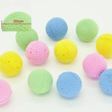 10Pcs Candy Color Cat Toys Ball Kitty Safety Play Soft Foam Sponge Pet Supplies