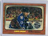 2002-03 Topps Heritage Autographs #CD Chris Drury NM-MT Auto