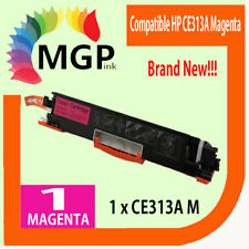 1x Magenta Toner Cartridge CE313A for HP Color Laserjet CP1025 CP1025nw Printer