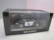 400065692 Minichamps Porsche Boxster S 2005 Highway Patrol - 1:43