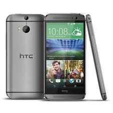 "HTC One M8 5.0"" 16GB 4G LTE GSM Unlocked Android Cell Phone Smartphone WIFI Gray"
