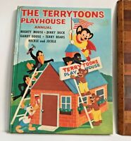 VINTAGE 1960 MIGHTY MOUSE TERRYTOONS COMIC BOOK ANNUAL HB UK HECKLE & JECKLE EXC
