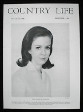 JANE MARIE DE LASZLO OF GODALMING WILLIAM HAYWOOD RUFFIN 1pp PHOTO ARTICLE 1966